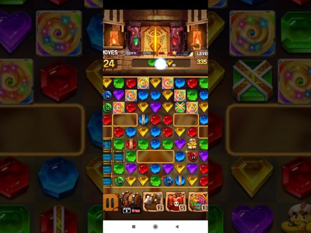 Jewel Legacy 💎 – Jewels & Gems Match 3 Puzzle 2021 Level 335 ⭐⭐⭐ no Booster 👑 Android Gameplay ✅
