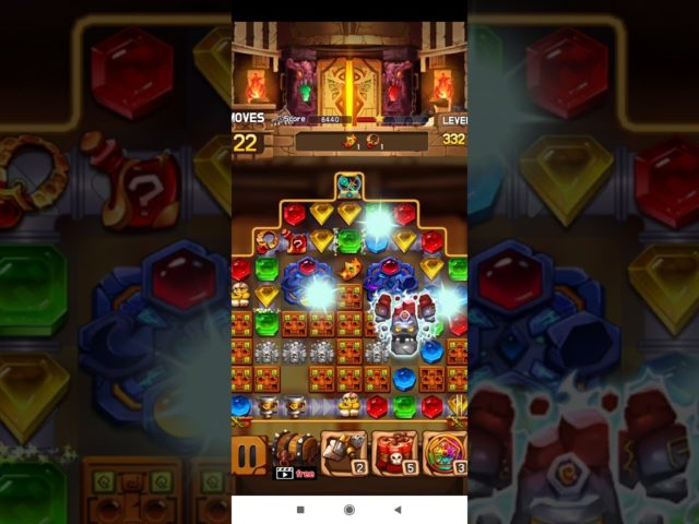 Jewel Legacy 💎 – Jewels & Gems Match 3 Puzzle 2021 Level 332 ⭐⭐⭐ no Booster 👑 Android Gameplay ✅