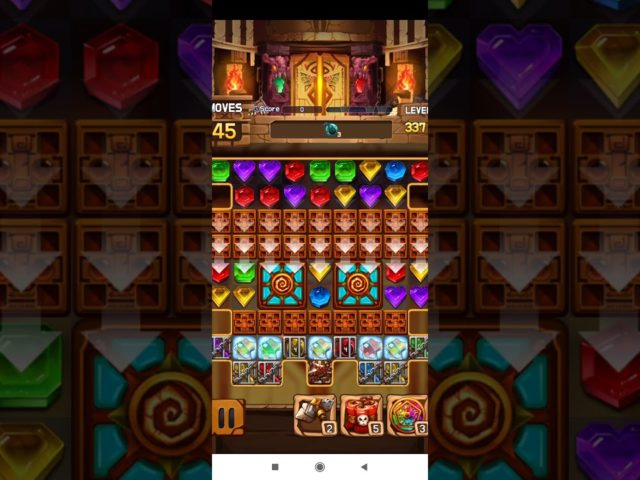 Jewel Legacy 💎 – Jewels & Gems Match 3 Puzzle 2021 Level 337 ⭐⭐⭐ no Booster 👑 Android Gameplay ✅